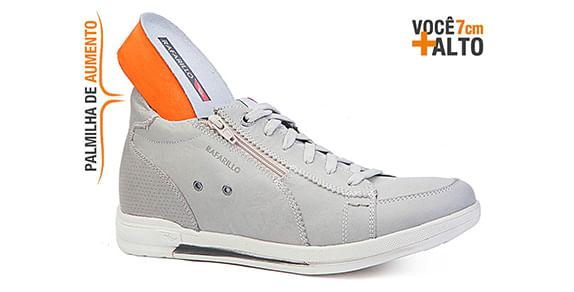 3381fee7efc2b1 A linha Alth da Rafarillo traz o sapato masculino com salto embutido.  Confeccionado com interior em PU, material antitranspirante e solado de  borracha, ...